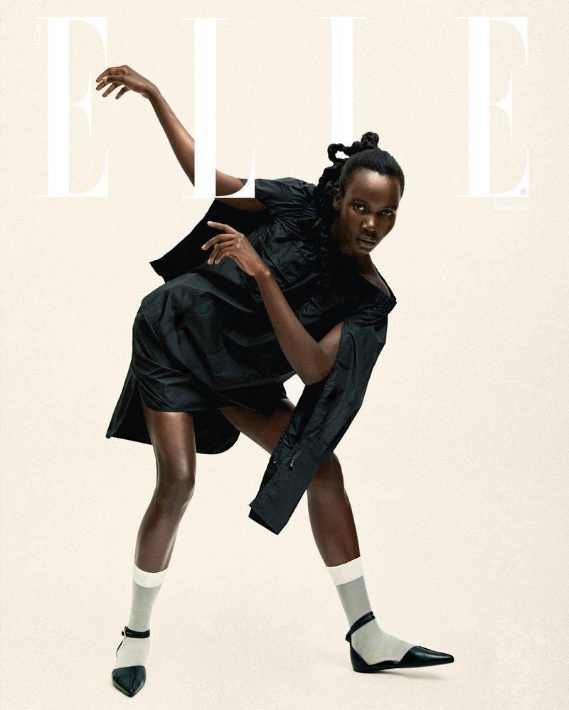 Akello Patricia for Elle Mexico March Issue 2021