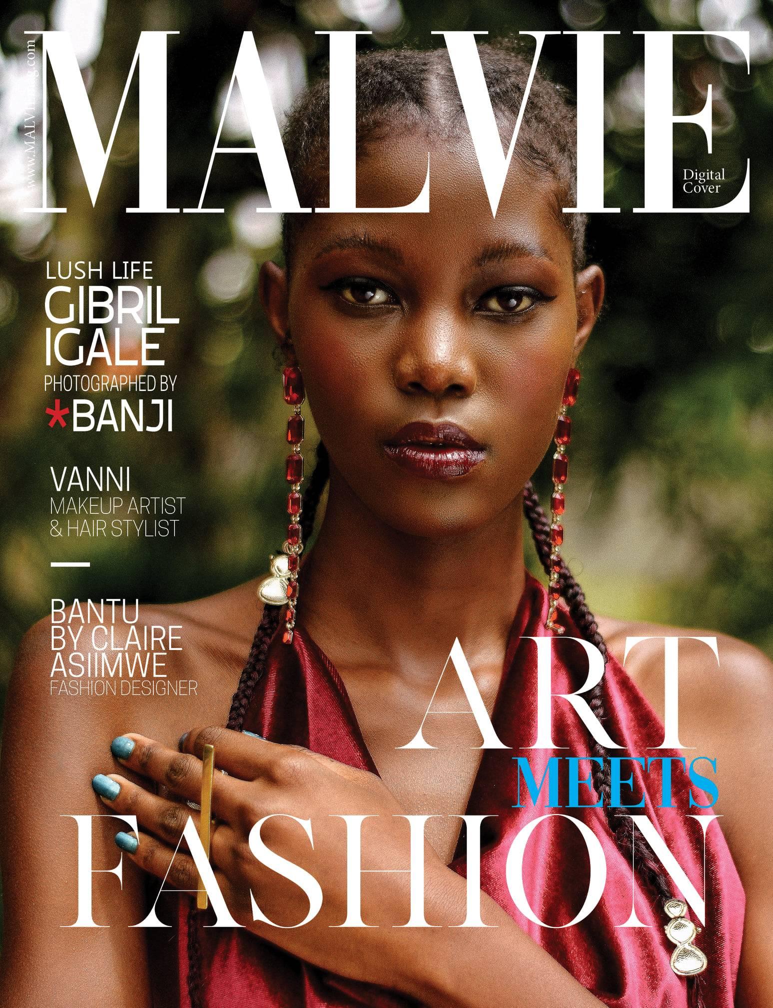 MALVIE MAGAZINE - GIBRIL IGALE
