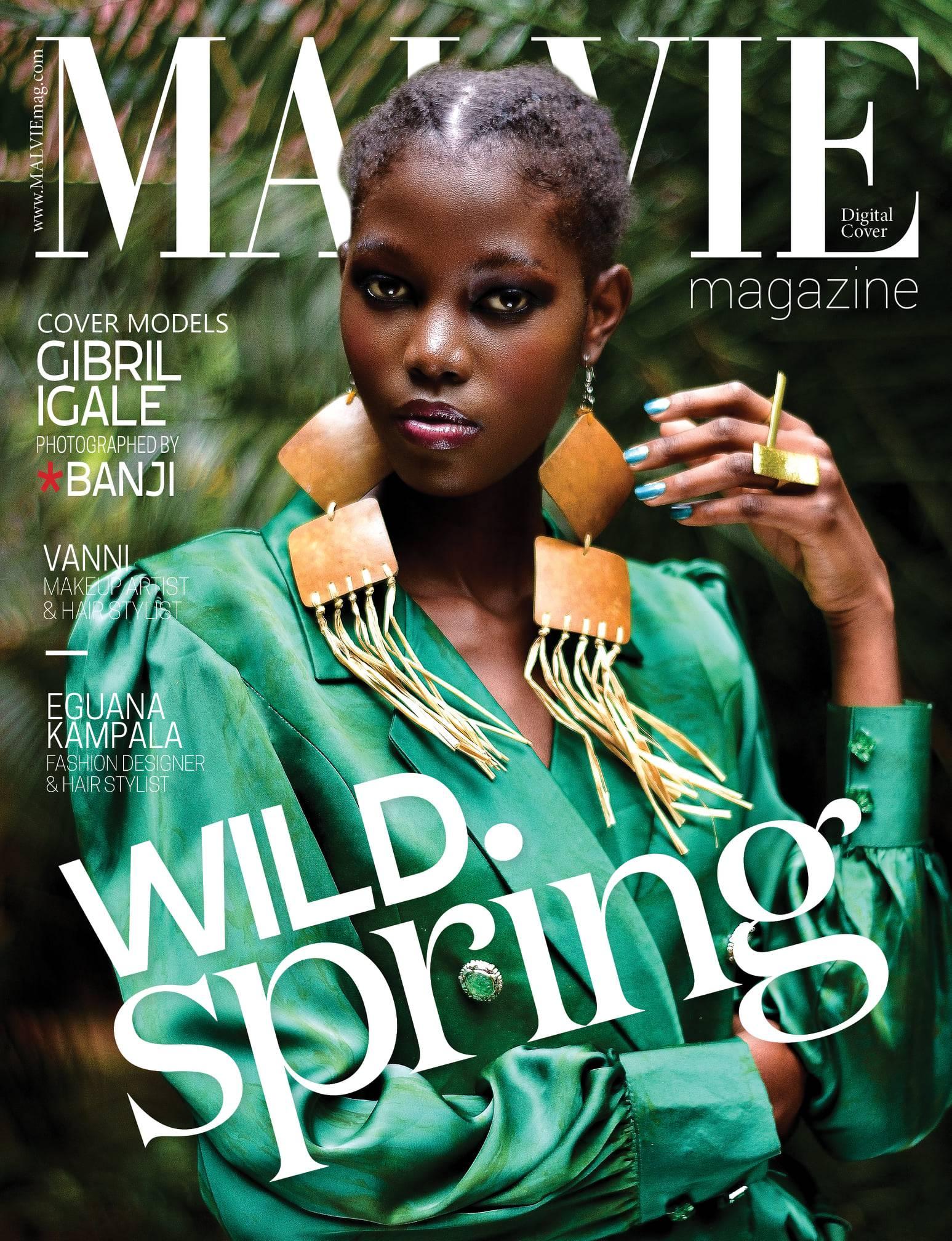 MALVIE MAGAZINE// GIBRIL IGALE